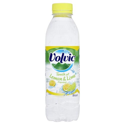 Volvic Revive Lemon Still Water Plastic Bottles 50cl x 12