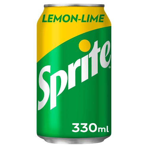 Sprite Cans GB 330ml x 24