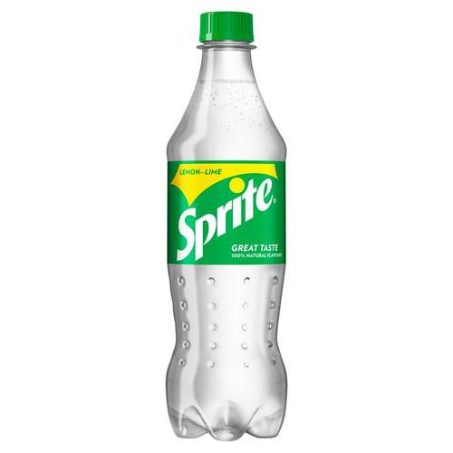Sprite Plastic Bottles GB 500ml x 24 NEW Recipe