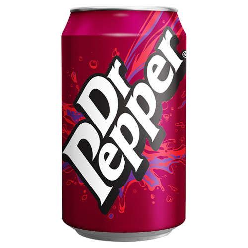 Dr Pepper Cans GB 330ml x 24