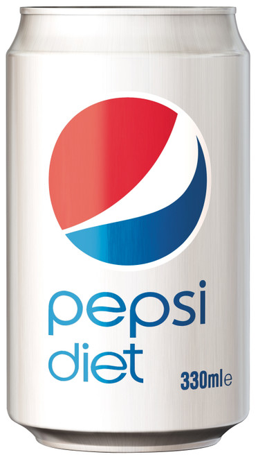 Pepsi Diet Can 330ml x 24