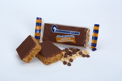 Mobberley Cakes Monster Flapjacks Chocolate Caramel 120g x 30