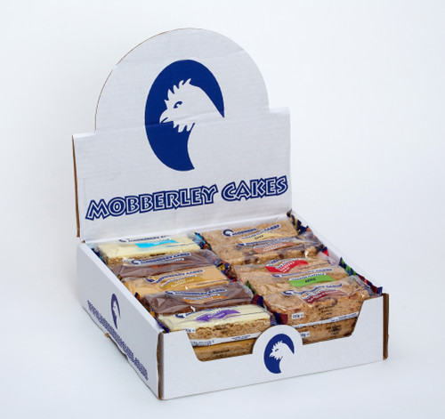 Mobberley Cakes Monster Flapjacks Assorted Box (Chocolate Top, Chocolate Chip, Oaty, Bakewell & Chocolate Caramel) 120g x 30