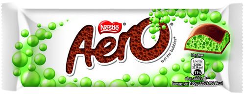 Nestle Aero Peppermint Bubbly Bar 40g x 24