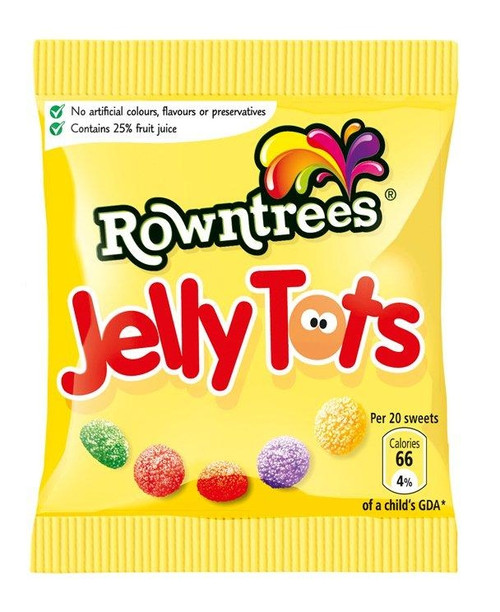 Nestle Rowntree's Jelly Tots 42g x 36
