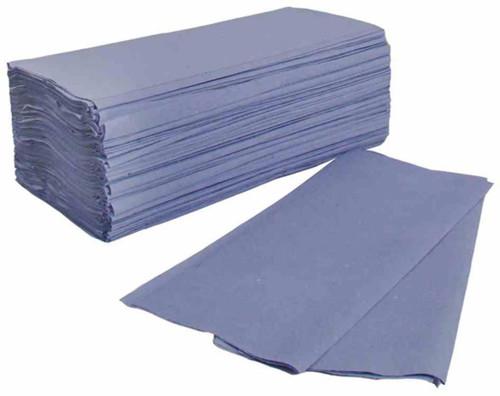 Z Fold Interlinked Hand Towels Blue x 3000