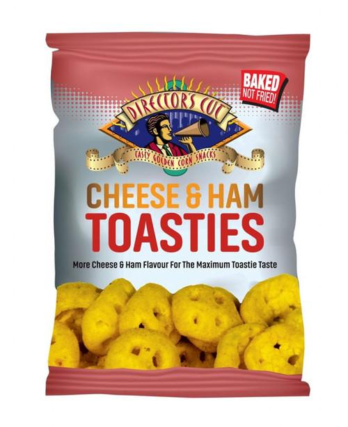 Directors Cut Crisps - Cheese & Ham Toasties 50g x 24