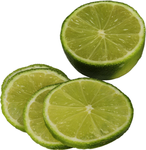 Golden Harvest Sliced Limes - Lime Tub 490g