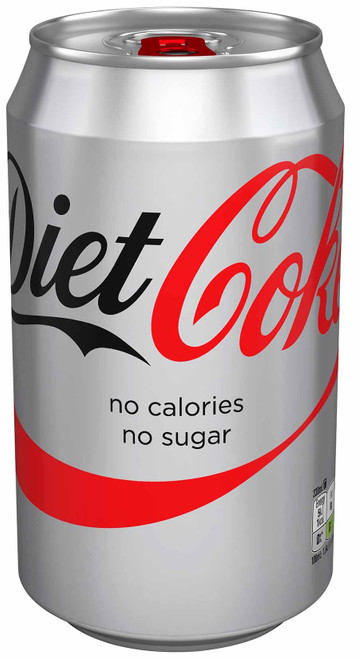 Diet Coke Can (Import) 330ml x 24