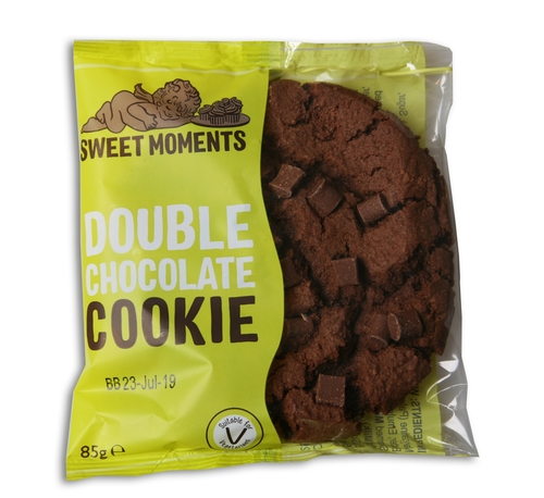 Sweet Moments - Double Chocolate Cookies 75g x 12