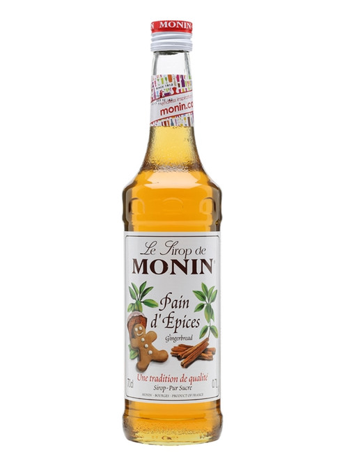 Monin Coffee Syrup - Gingerbread 70cl
