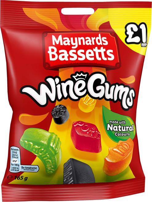 Maynard Wine Gums £1 (Price Marked) x 12