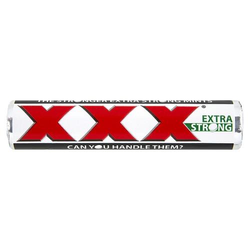 Trebor Extra Strong Triple XXX Peppermint Mints 48g x 40