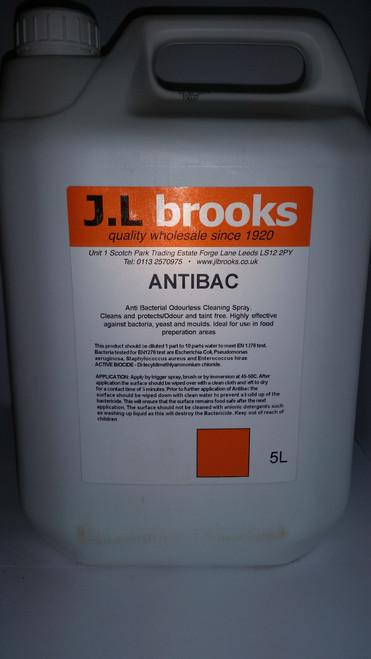 Anti-Bac Sanitiser Cleaner (Floors & Surfaces) 5 Ltr