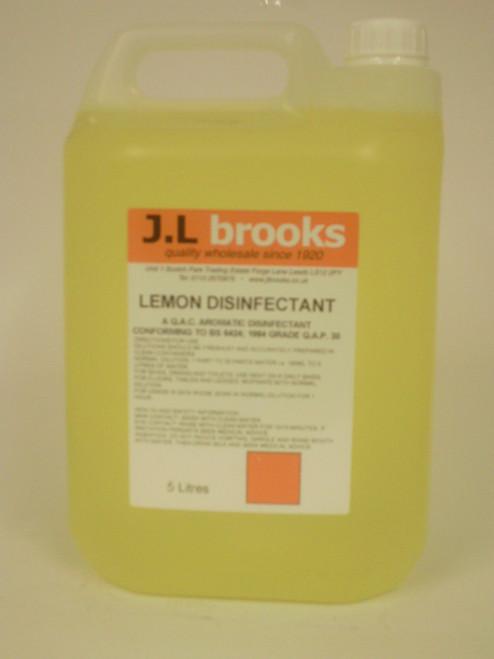 Lemon Disinfectant 2 x 5ltr Bottles