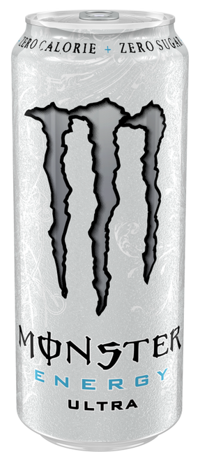 Monster Energy Ultra White (Non Price Marked) Cans 500ml x 12