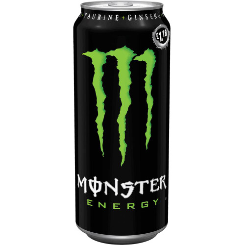 Monster Energy Green Original (Price Marked £1.35) Cans 500ml x 12