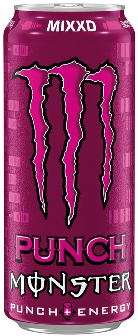 Monster Energy Punch Mixxd(Price Marked £1.35) Cans 500ml x 12