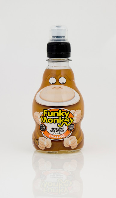 Wild Waters Funky Monkey - Orange Flavoured Water 270ml x 12