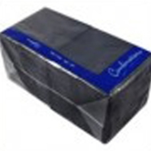 Black Bar Napkin 2ply 24cm x 24cm x 1000 (Full Box)