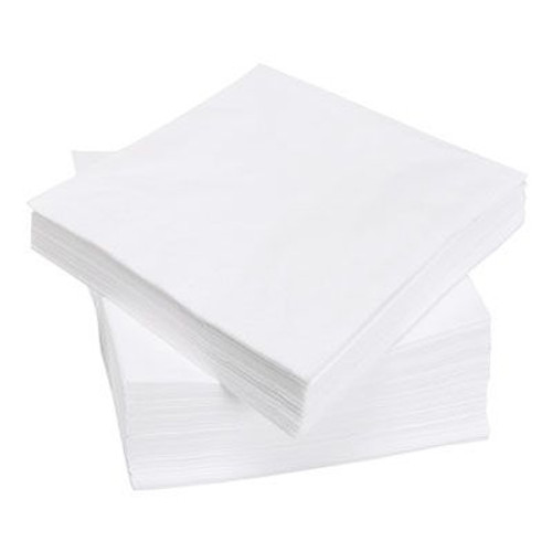 FULL BOX  White Napkins 33 x 33 2PLY 2000 16 PACK