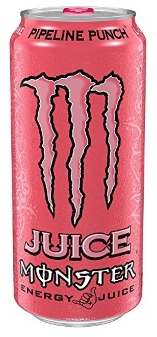 Monster Energy Pipeline Punch Cans (Non Price Marked) 500ml x 12