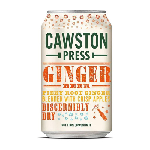 Cawston Press Ginger Beer 330ml Cans x 24