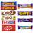 Cadbury & Nestle Mixed Chocolate Bars x 48