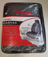 D-Max canvas seat covers
