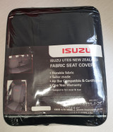 Isuzu D-Max rear sear covers in package.