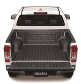 Fitted to an LS Double Cab D-Max ute, this over rail deck liner protects the rear of your D-Max ute from damage.