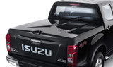 Keep your equipment secure with a lockable hard lid  for your D-Max ute from Isuzu. Painted to ensure high quality finish and matched to vehicle colour. Lightweight, yet strong and durable. Features single button, twin lock system.