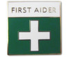 First Aider Enamelled Badge