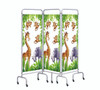 Sunflower Mobile Folding Screen
