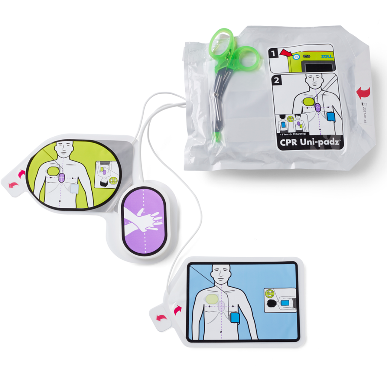 Zoll AED 3 Uni-Padz Electrodes