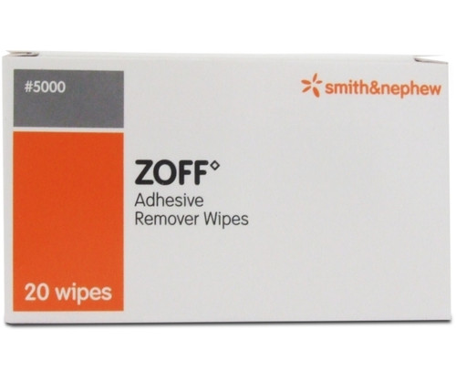 Zoff Plaster Removal Wipes (Pack of 20)
