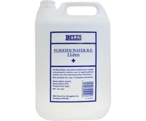 Purified Water BP (5 Litre)