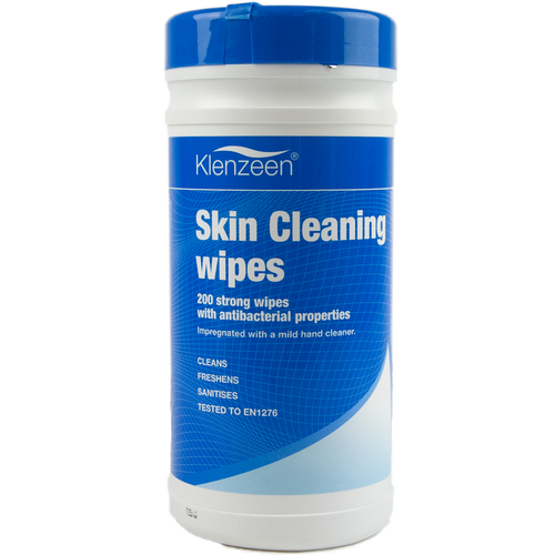 Klenzeen Skin Cleansing Wipes (200 Large Wipes)