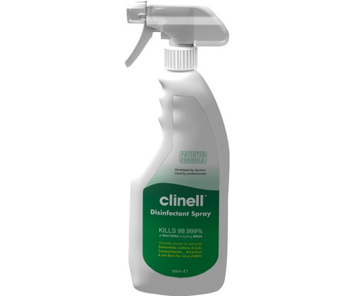 Clinell Alcohol Free Universal Skin Surface Sanitising Spray (500ml)