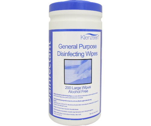 General Purpose Disinfecting Large Wipes (Pack of 200)