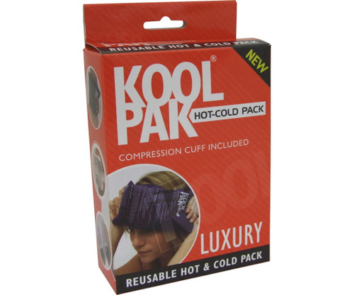 Koolpak Luxury Reusable Hot / Cold Pack with Compression Cuff