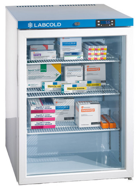 Labcold RLDG0510 150 litre Glass Door Pharmacy Refrigerator