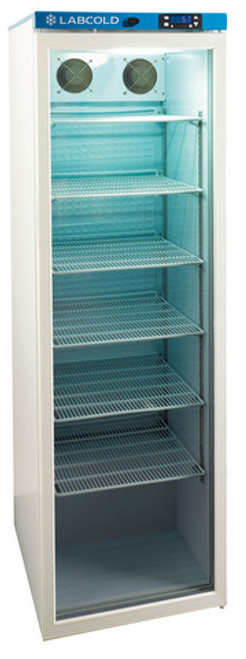 Labcold RLDG1510 430 litre Glass Door Pharmacy Refrigerator