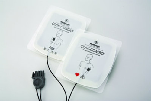 Quik-Combo Adult Electrodes with Redi-Pak pre connect system - Pair