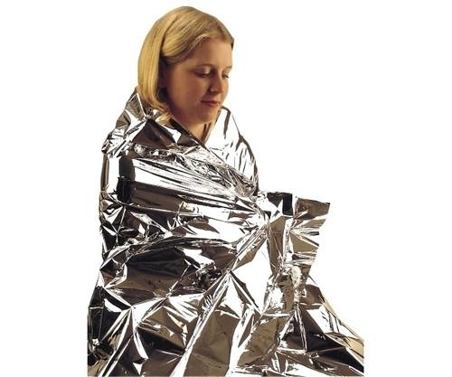 Aluminium Adults Polyester Foil Blanket (1.35 x 2m)