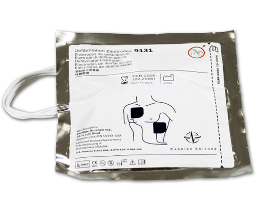 Defibrillation Pads for PowerHeart G3 AED Automatic External Defibrillator