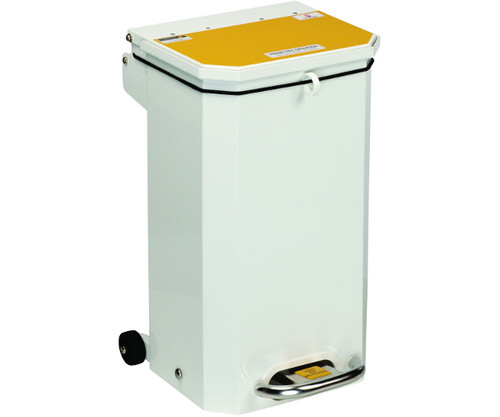 Sunflower Flame Retardant Waste Bin Yellow Lid