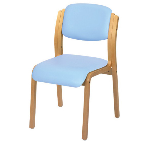 Aurora Visitor Chair (Anti-bacterial Vinyl)