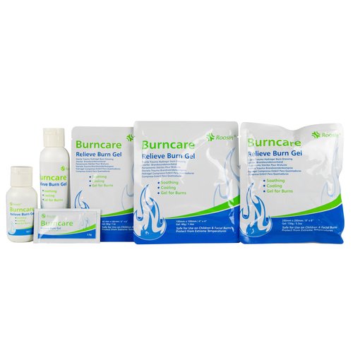 New Burn Gel Dressings