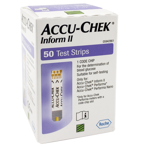 Accu-Chek Performa Test Strips x50